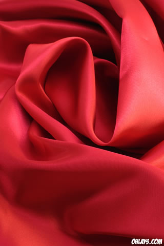 Red Fabric iPhone Wallpaper