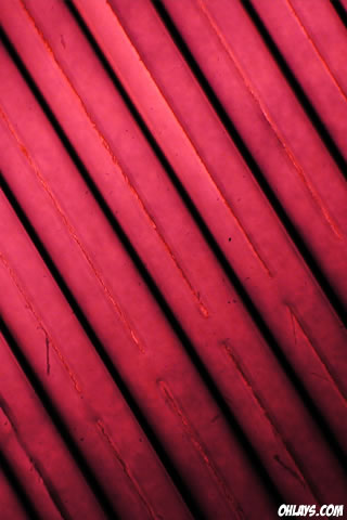 Red Stripes iPhone Wallpaper