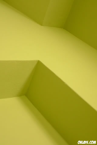 Yellow Steps iPhone Wallpaper