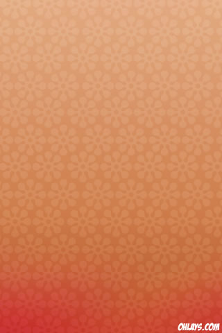 Orange Pattern iPhone Wallpaper