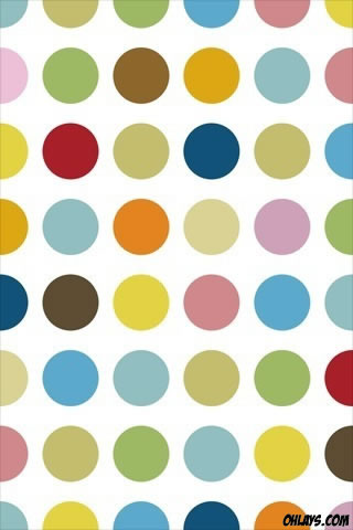 Dots iPhone Wallpaper
