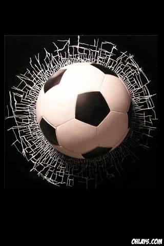 Soccer Ball iPhone Wallpaper