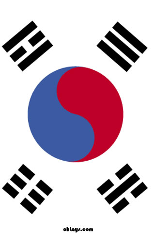 South Korea iPhone Wallpaper