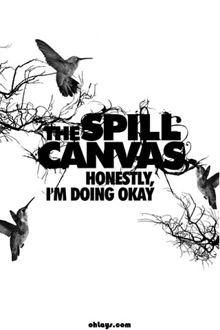 The Spill Canvas iPhone Wallpaper
