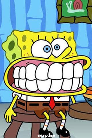 Sponge Bob Square Pants iPhone Wallpaper