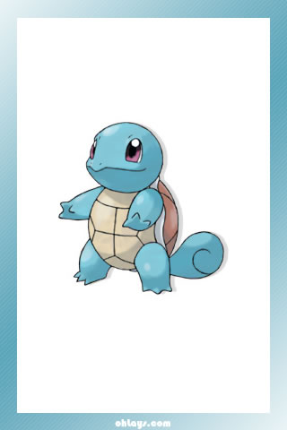 Squirtle iPhone Wallpaper