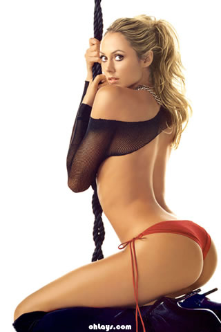 Stacy Keibler iPhone Wallpaper