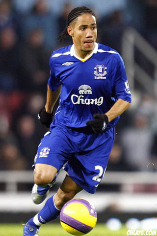 Steven Pienaar iPhone Wallpaper