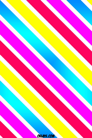 Candy Stripes iPhone Wallpaper
