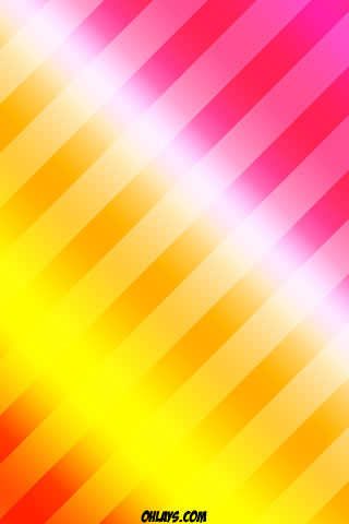 Orange Stripes iPhone Wallpaper