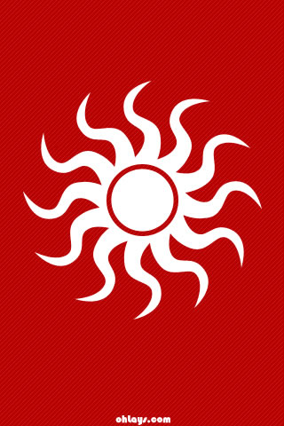 Sun iPhone Wallpaper