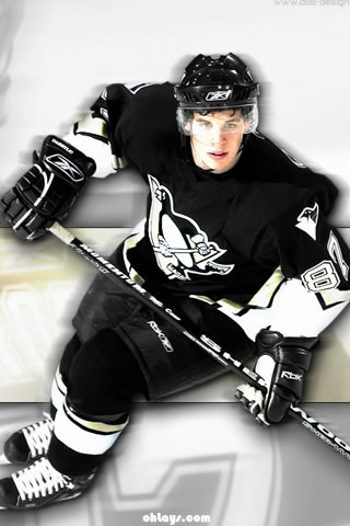 Sydney Crosby iPhone Wallpaper