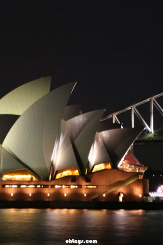 Sydney Opera House iPhone Wallpaper