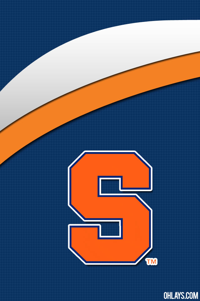 Syracuse Orange iPhone Wallpaper