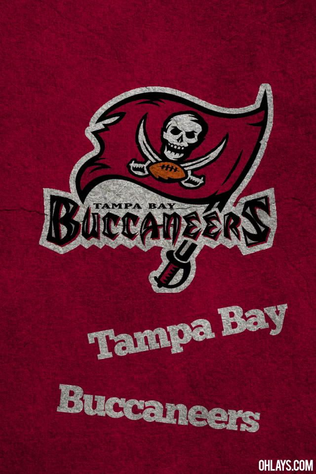 Tampa Bay Buccaneers iPhone Wallpaper