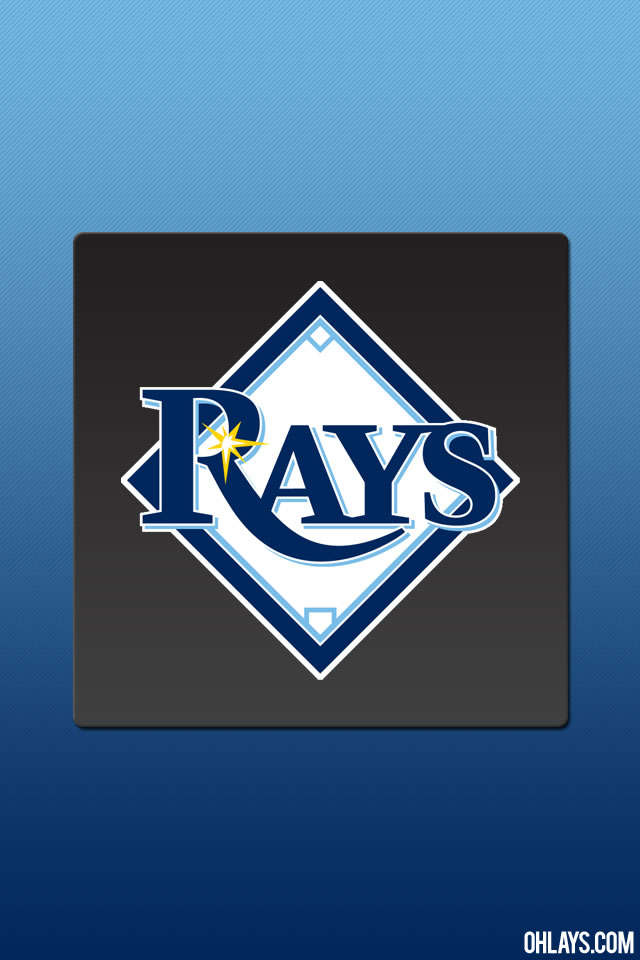 Tampa Bay Rays iPhone Wallpaper