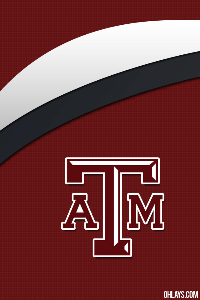 Texas A&M Aggies iPhone Wallpaper