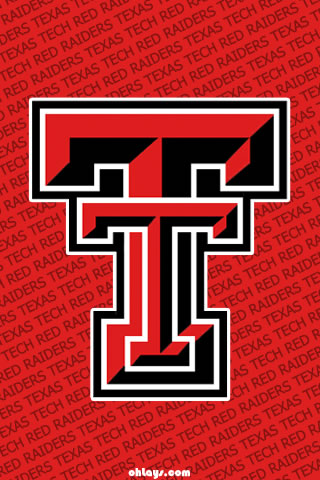 Texas Tech Red Raiders iPhone Wallpaper