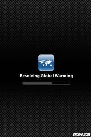 Global Warming iPhone Wallpaper