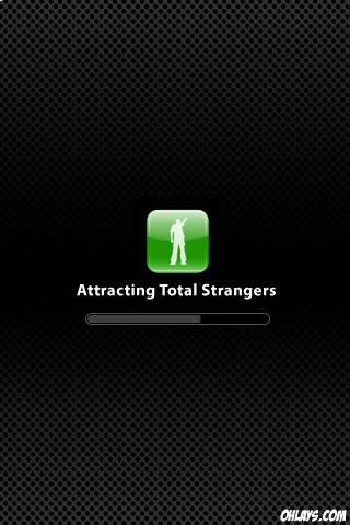 Strangers iPhone Wallpaper