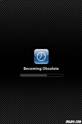 Obsolete iPhone Wallpaper
