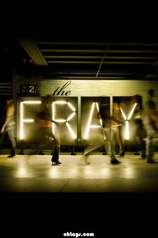 The Fray iPhone Wallpaper