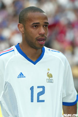 Thierry Henry iPhone Wallpaper