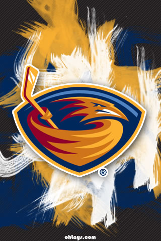 Atlanta Thrashers iPhone Wallpaper