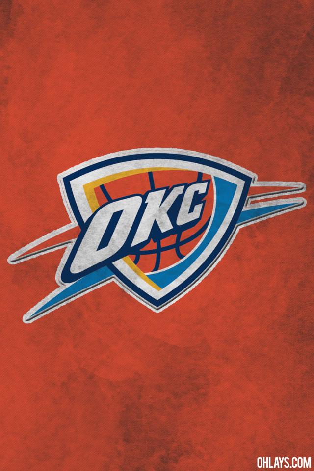 oklahoma city thunder iphone wallpaper 1111 ohlays