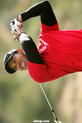 Tiger Woods iPhone Wallpaper