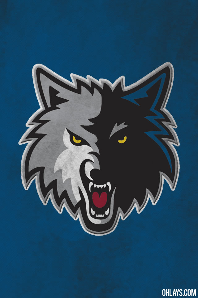 Minnesota Timberwolves iPhone Wallpaper
