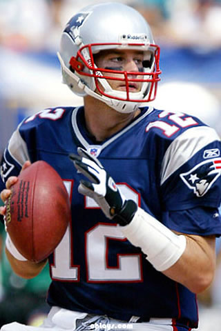 Tom Brady iPhone Wallpaper
