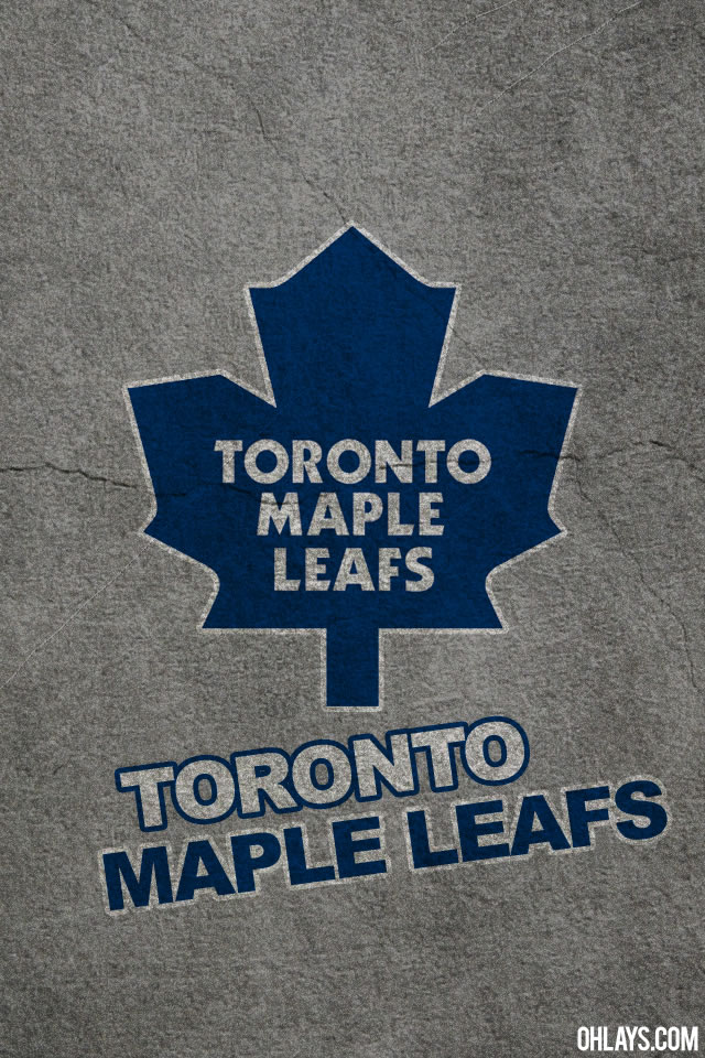 Toronto Maple Leafs iPhone Wallpaper | #405 | ohLays