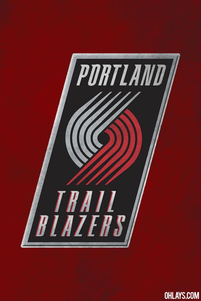 Portland Trailblazers iPhone Wallpaper