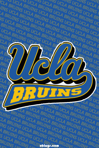 UCLA Bruins iPhone Wallpaper