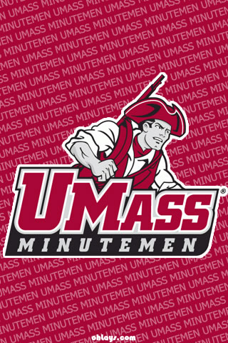 UMASS Minutemen iPhone Wallpaper
