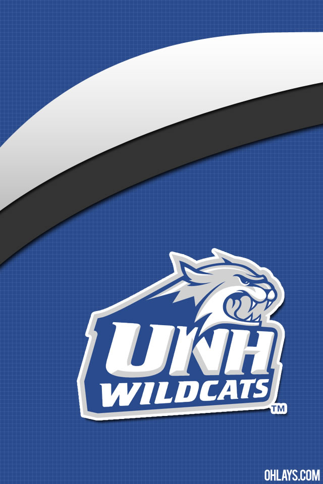 UNH Wildcats iPhone Wallpaper