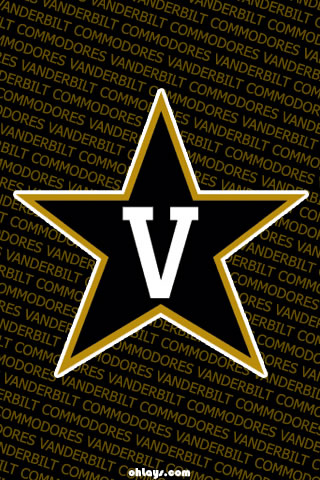 Vanderbilt Commodores iPhone Wallpaper