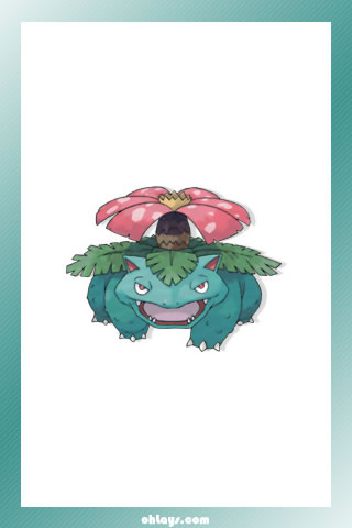 Venusaur iPhone Wallpaper