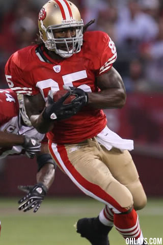 Vernon Davis iPhone Wallpaper