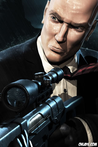 Hitman iPhone Wallpaper