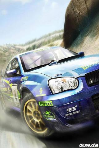 Racing iPhone Wallpaper