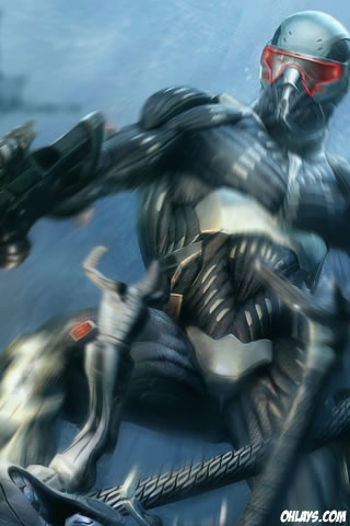 Crysis iPhone Wallpaper