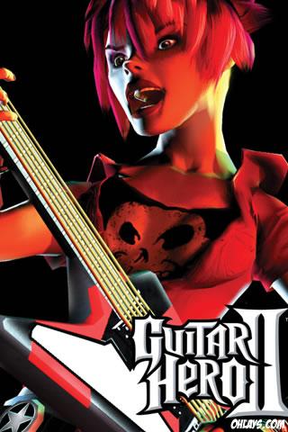 Guitar Hero iPhone Wallpaper