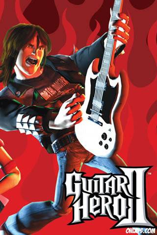 Guitar Hero iPhone Wallpaper