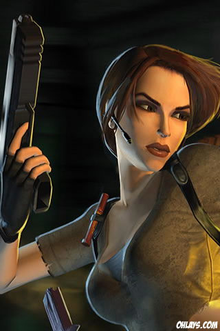 Tomb Raider iPhone Wallpaper