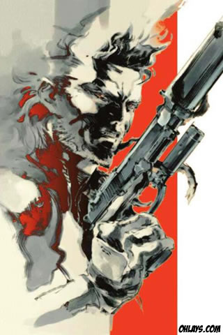 Metal Gear iPhone Wallpaper