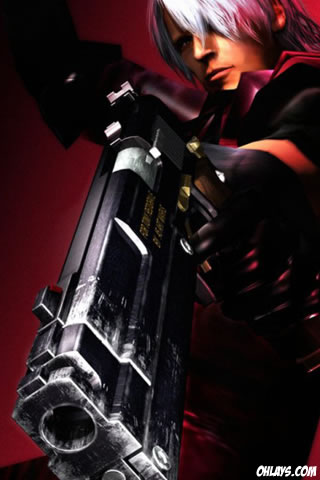 Devil May Cry iPhone Wallpaper