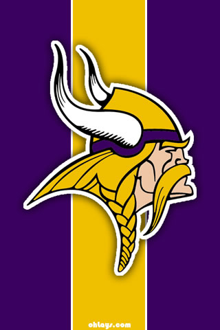 Minnesota Vikings iPhone Wallpaper