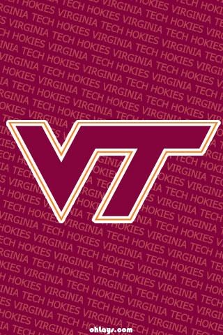 Virginia Tech Hokies iPhone Wallpaper